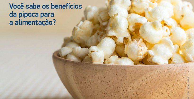 Consumo de pipoca pode ser aliado na alimentação saudável, diz nutricionista