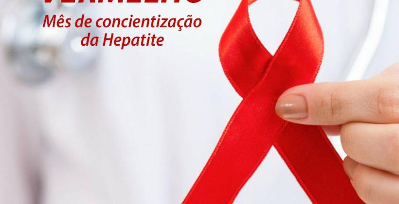 Maio vermelho: mês de conscientização da Hepatite
